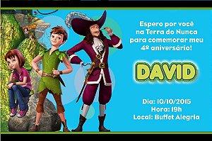 Convite digital personalizado Peter Pan 010