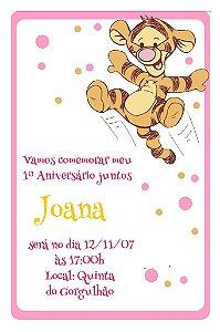 Convite digital personalizado Baby Pooh 004