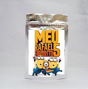 Saco Metalizado Minions 002