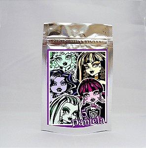 Saco Metalizado Monster High