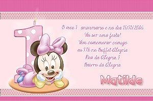 Convite digital personalizado Primeiro Aniversário 005A