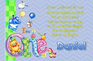 Convite digital personalizado Primeiro Aniversário 013
