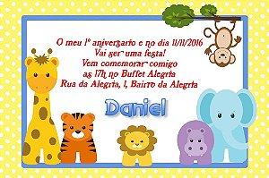 Convite digital personalizado Primeiro Aniversário 049