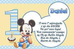 Convite digital personalizado Primeiro Aniversário 051