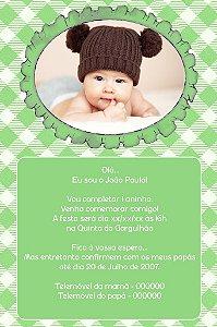 Convite digital personalizado Primeiro Aniversário 052