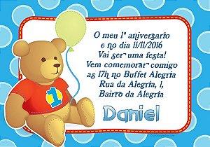 Convite digital personalizado Primeiro Aniversário 057