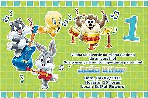 Convite digital personalizado Primeiro Aniversário 070