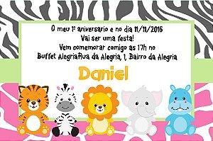Convite digital personalizado Primeiro Aniversário 073