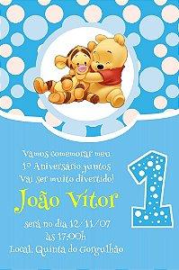 Convite digital personalizado Primeiro Aniversário 075
