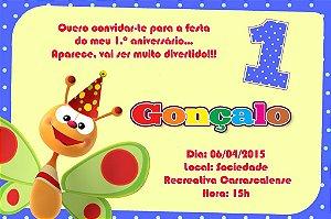 Convite digital personalizado Primeiro Aniversário 079