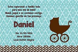 Convite digital personalizado para Chá de Bebê 022