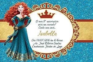 Convite digital personalizado Valente Royal Party 021
