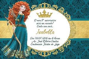 Convite digital personalizado Valente Royal Party 022