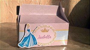 Arte para caixa Princesas Disney Royal Party 001