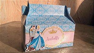 Arte para caixa Princesas Disney Royal Party 002