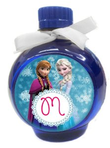 Adesivo para àgua Ouro Fino Elsa e Ana Frozen