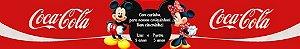 Rótulo refrigerante Mickey e Minnie