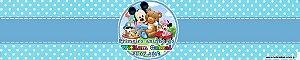 Rótulo refrigerante Baby Mickey