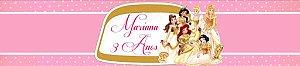 Rótulo refrigerante Princesas Disney