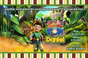 Convite digital personalizado Tree Fu Tom 002
