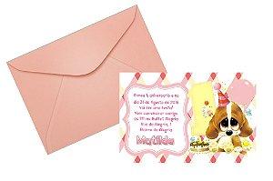 Convite 10x15 Primeiro Aniversário 002