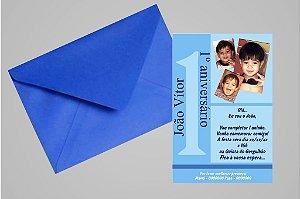 Convite 10x15 Primeiro Aniversário 011