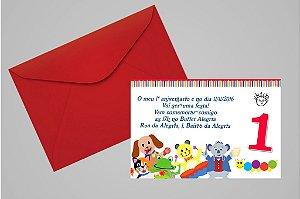 Convite 10x15 Primeiro Aniversário 036
