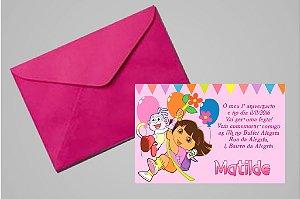 Convite 10x15 Primeiro Aniversário 038