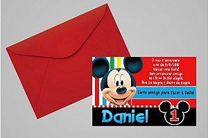 Convite 10x15 Primeiro Aniversário 046