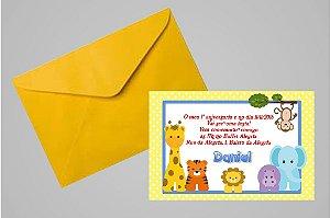 Convite 10x15 Primeiro Aniversário 049