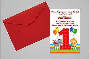 Convite 10x15 Primeiro Aniversário 058