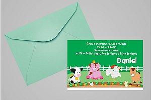Convite 10x15 Primeiro Aniversário 089