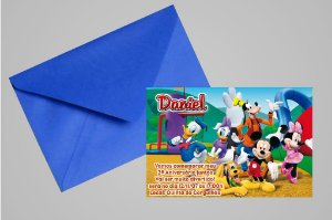 Convite 10x15 A Casa do Mickey Mouse 007