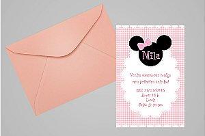 Convite 10x15 Minnie 001