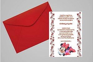 Convite 10x15 Minnie 015