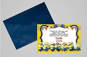 Convite 10x15 Minions 002