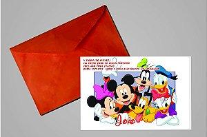 Convite 10x15 Turma do Mickey 001