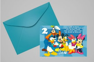 Convite 10x15 Turma do Mickey 002