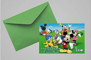 Convite 10x15 Turma do Mickey 004