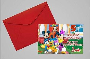 Convite 10x15 Turma do Mickey 008
