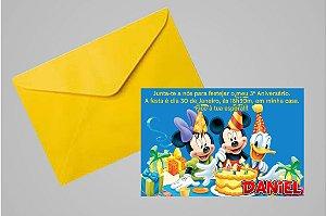 Convite 10x15 Turma do Mickey 011