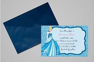 Convite 10x15 Cinderela 009
