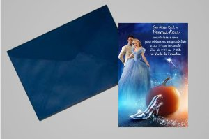Convite 10x15 Cinderela 023