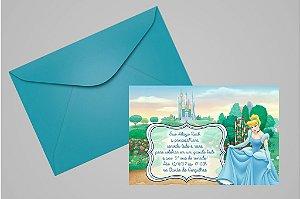 Convite 10x15 Cinderela 024