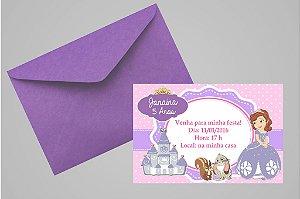 Convite 10x15 Princesa Sofia 002