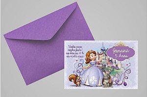 Convite 10x15 Princesa Sofia 005