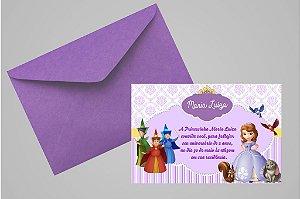Convite 10x15 Princesa Sofia 007