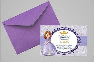 Convite 10x15 Princesa Sofia 008
