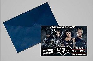 Convite 10x15 Batman Vs Superman 002