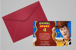 Convite 10x15 Toy Story 004